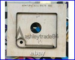 Manual 2236cm Leathercraft Cutting Machine Leather Paper PVC Sheet Punch Cutter