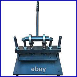 Manual Leather Cutting Machine Die-cutter 5.9 x 11.8 Press Cutter