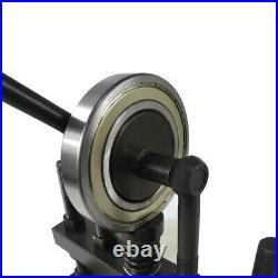 Manual Leathercraft Die Cutting Machine Leather Paper PVC EVA Sheet Punch Cutter
