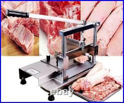 Manual Pig Ribs Bone Saw Chop Bone Cutting Machine Bone Cutter 350 mm