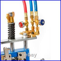 Manual Pipe Cutter Cutting Beveling Machine Torch Track Chain Beveler USA STOCK