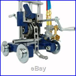 Manual Pipe GAS Cutter Bevel Torch Track Chain Cutting Beveling Machine CG2-11Y