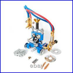Manual Pipe GAS Cutter Beveler Torch Track Chain Cutting Beveling Machine CG-211
