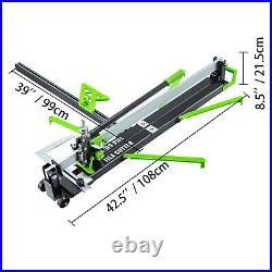 Manual Tile Cutter Cutting Machine 600mm/800mm/1000/1200mm Hand Laser Guide