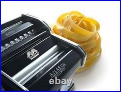 Marcato 8320 Atlas Pasta Machine Made in Italy Includes Pasta Cutter Hand Crank