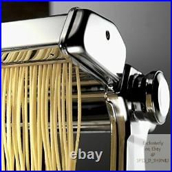 Marcato Atlas 150 Pasta Machine, Made in Italy, Crank, and Includes Cutter, Hand