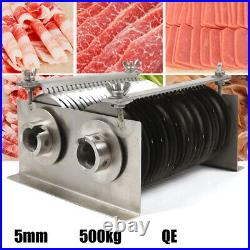 Meat Cutting Machine Cutter Slicer One Set Blade 5MM for QE Model 500KG