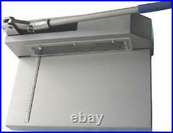 Metal Plate Cutter Guillotine Shear Gauge Aluminum Plastic Sheet Cutting Machine