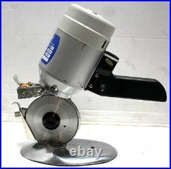 Micro Top MB-90 Rotary Fabric Cutter, 3-1/2 Round Blade Cutting Machine 220V