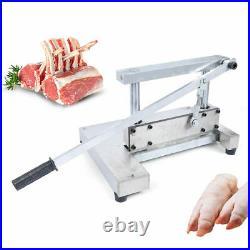 New Manual Chop Bone Meat Bone Saw Machine Meat Cutters & Slicers Waterproof US
