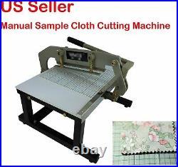 New Sample Manual Cloth Fabric Cutting machine Knife Cloth Cutter
