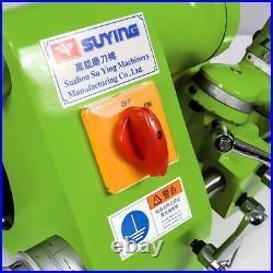 New U3 Cutter Universal Tool Grinder Sharpener Machine Negative Angle 3.0-16mm