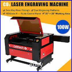 OMTech 100W 28x20 70x50cm CO2 Laser Engraver Cutter Engraving Cutting Machine