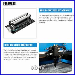 OMTech 50W 20x12 Bed CO2 Laser Engraving Cutting Machine Ruida Engraver Cutter
