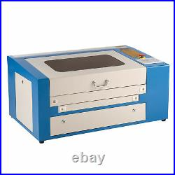 OMTech 50W 20x12 CO2 Laser Engraver Cutter Engraving Machine with Rotary Axis