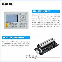 OMTech 50W 20x12 Inch CO2 Laser Engraver Cutter Machine Ruida with Lightburn