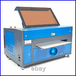 OMTech 60W 16x2440x60cm CO2 Laser Engraver Egravering Cutter Machine Ruida
