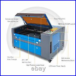 OMTech 60W 24x16 60x40cm Bed Ruida CO2 Laser Engraver Cutter Engraving Machine