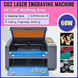OMTech 60W 24x16 Cutting Engraving Marking Machine CO2 Laser Engraver Cutter
