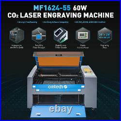OMTech 60W 24x16In Workbed CO2 Laser Cutting Engraving Machine Engraver Cutter