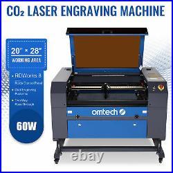 OMTech 60W 28x20 Cutting Engraving Marking Machine CO2 Laser Engraver Cutter