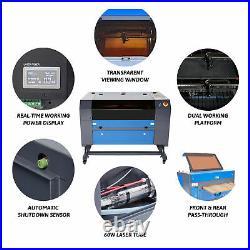 OMTech 60W 28x20 Inch CO2 Laser Engraver Cutter Engraving Cutting Machine Ruida