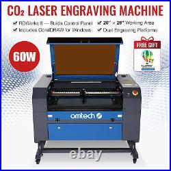 OMTech 60W 28x20Laser Engraver Cutter Engraving Machine with CorelDraw Windows