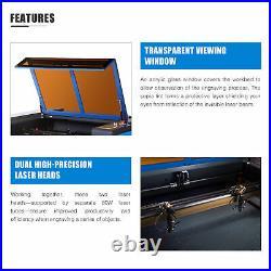 OMTech 80W 40x24 in. Bed CO2 Laser Engraver Cutter Engraving Machine Motorized Z