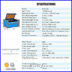 OMTech Upgraded CO2 Laser Engraver Cutter 50W 12x20 Cutting Engraving Machine