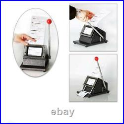 PVC Business ID Card Manual Cutter Name Credit Card Cutter Machine
