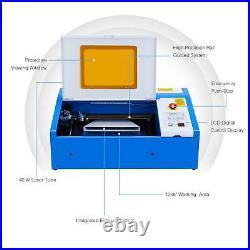 Preenex 40W 20 x12 Cutting Engraving Marking Machine CO2 Laser Engraver Cutter