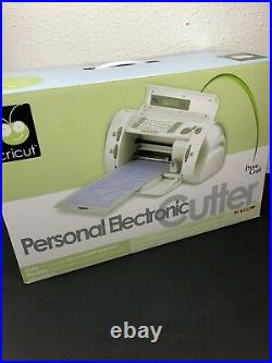 Provo Craft Cricut Personal Electric Cutter Craft Cutting Machine 29-0001
