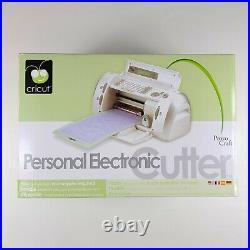 Provo Craft Cricut Personal Electric Cutter Craft Cutting Machine 29-0001 NEW