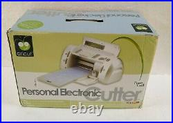 Provo Craft Cricut Personal Electric Cutter Craft Cutting Machine ++ Never Used