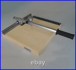 Q-00X Laboratory use glass cutter Manual ITO Glass cutting machine 28x33CM Y
