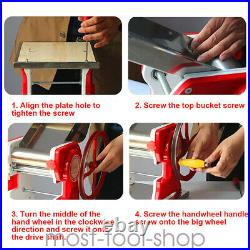 SALE Mult-functional Manual Noodle machine Pasta Dumpling Skin Maker Machine