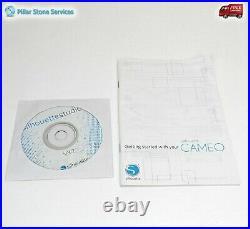 Silhouette Cameo 2 Desktop machine Vinyl HTV Cutter withPremium Blade, Mat, Disc