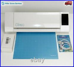 Silhouette Cameo 2 machine Vinyl HTV Cutter Bundle HTV, Vinyl, New Mat-Excellent