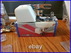 Singer Prof Sewing Machine CG-550C Pedal Manual Side Cutter / Serger and Ruffler