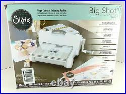 Sizzix Big Shot Plus Die Cutting Machine Starter Kit Bundle Cutter Embosser