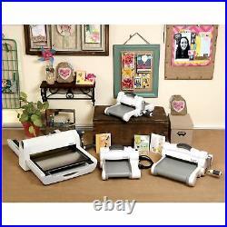 Sizzix White Big Shot Machine Manual Roller, Cutter, Embosser, Compatibility Mac