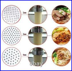 Stainless Steel Manual Noodle Pasta Maker Noodle Press Machine Pasta Cutter