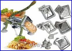 Tiger Chef French Fry Cutter Commercial Grade Heavy Duty Vegetable Slicer Machin