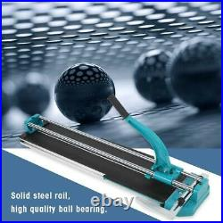 Tile Cutter 800mm Ball Bearing Porcelain Ceramic Blade Manual Cutting Machine US