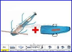 Tile Cutter Machine 127,4cm Manual Push Handle Sigma 3e4m +case With Wheels 43e1