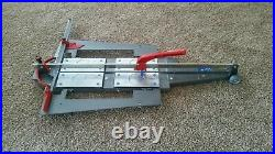 Tile Cutter Machine Manual Montolit Masterpiuma 125p3 Cutting Lengh 49 Inch