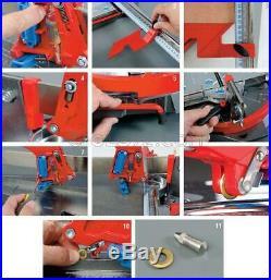 Tile Cutter Machine Manual Montolit Masterpiuma 155p3 Cutting Lengh 61 Inch