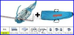 Tile Cutter Machine Manual Push Handle Sigma 3d4m Cutting 90,5 CM + Case 43d1
