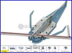 Tile Cutter Machine Manual Push Handle Sigma 3p3m Cutting Lenght 100,5 CM