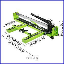 Tile Cutter Manual Tile Cutter 40-Inch Ceramic Porcelain Cutting Machine